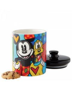 Mickey Mouse and Pluto Cookie Jar 15cm 6004977 Disney by Enesco