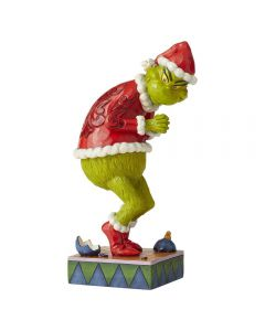 Sneaky Grinch with Hands Clenched Figurine Jim Shore & Enesco 6006566