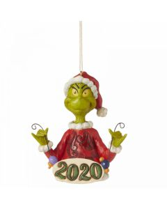 Grinch Holding String of Ornaments (Hanging Ornament) Jim Shore & Enesco 6006573