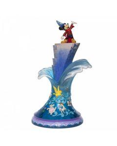 """Summit of Imagination"" Sorcerer Mickey Mouse Masterpiece Figurine 6007053"