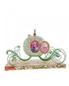 Cinderella Enchanted Carriage Light-up Figurine 6007055 by Jim Shore for Disney Enesco