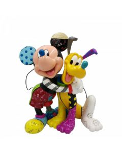 Mickey and PlutoFigurine Disney by Enesco 6007094