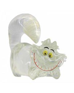 "Clear ""Invisible"" Cheshire Cat Figurine 6008700 Disney Enesco"