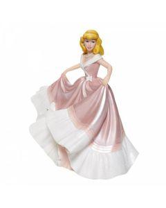 Cinderella in Pink Dress Couture de Force Figurine6008704 Disney Enesco