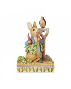 """... then he ate some radishes"" (Peter Rabbit Figurine)  by Enesco 6008743"