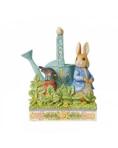 Caught in Mr. McGregor's Garden (Peter Rabbit Figurine) by Enesco 6008744