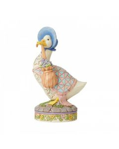 ..wearing a shawl and a poke bonnet. (Jemima Puddle-Duck) by Enesco 6008748