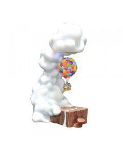 Pixar UP Levitating House Masterpiece Figurine Disney by Enesco 6008759