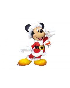 Santa Mickey Mouse Couture de Force Large Figurine 6009029 Disney Enesco
