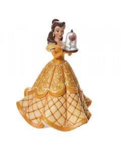A Rare Rose - Belle Deluxe Figurine by Jim Shore for Disney Enesco 6009139