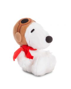60529 Snoopy Pilot 7.5 inch Soft Plush Toy by Aurora World
