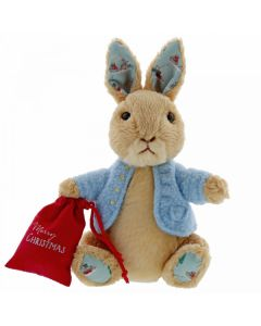 Beatrix Potter Peter Rabbit Christmas Small Soft Toy 16cm by GUND 6054395