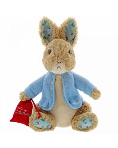 Beatrix Potter Peter Rabbit Christmas Large Soft Toy 30cm (large) by GUND 6054396