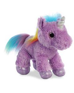 60898 Sparkle Tales Electra Unicorn Purple by Aurora World 30cm