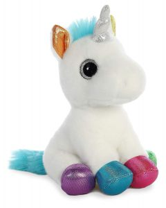 60955 Sparkle Tales Jewel Unicorn White by Aurora World 17cm