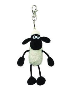 61176 Shaun the Sheep Plush Backpack Clip 5 inches by Aurora World
