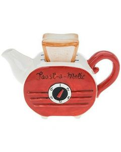 Retro Toaster Ceramic Teapot by Shudehill Gifts 61501