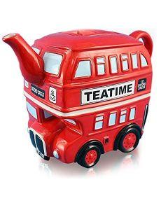 London Routemaster Bus Red Ceramic Teapot 62125