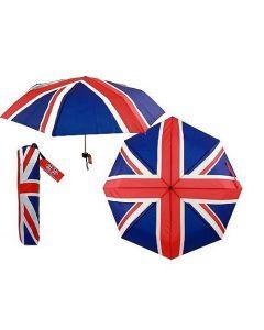 Union Jack Telescopic Umbrella 64792