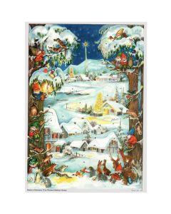 Richard Sellmer A4 Advent Calendar Country Road 66