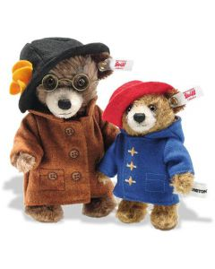 Steiff Paddington and Aunt Lucy Miniature Mohair Set Limited Edition 690501