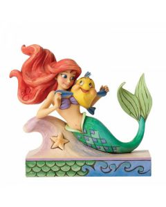 Fun and Friends (Ariel with Flounder Figurine)4054274
