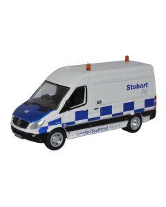 Oxford Diecast Mercedes Sprinter Van Stobart Air 76MSV001