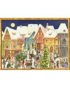 Richard Sellmer Advent Calendar Victorian Street Scene 70118