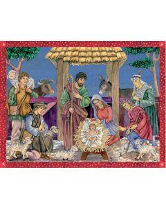 Richard Sellmer Advent Calendar The Saviour is Born Advent Calendar 70120