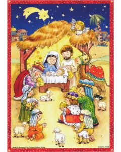 Richard Sellmer Advent Calendar Come to the Manger 70128