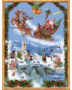 Richard Sellmer Advent Calendar Victorian Father Christmas 70133