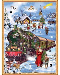 Richard Sellmer Advent Calendar Victorian Christmas Train 70134