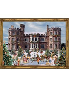 Richard Sellmer Advent Calendar Victorian Skating at the Castle 70135