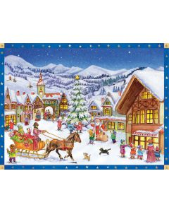Richard Sellmer Advent Calendar Christmas in the Mountain Village 70137
