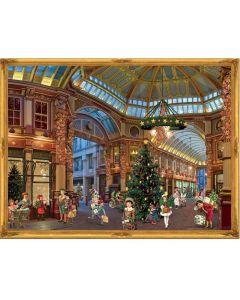 Richard Sellmer Advent Calendar Christmas Shopping arcade 70139