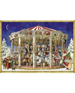 71324 The Christmas Carousel Traditional Advent Calendar by Coppenrath