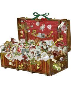 Victorian style Treasure Chest Advent Calendar Coppenrath 71340