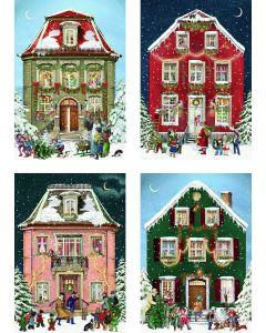 Coppenrath Victorian Houses Mini Advent Calendar Cards 71506