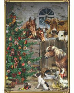 Coppenrath Festive Farm A4 Traditional Advent Calendar 71891