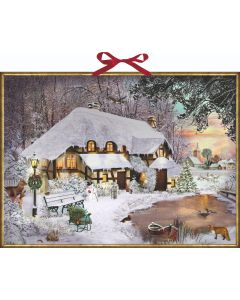 Coppenrath Winter Cottage in the Woods Traditional Advent Calendar 71997
