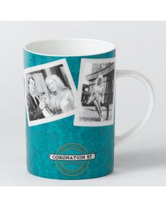 Coronation Street Factory Mug in Blue | itv Studios A24631