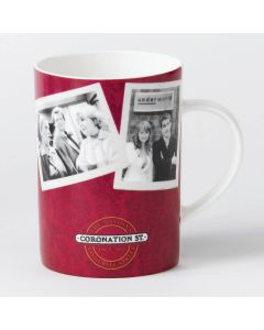 Coronation Street Factory Mug in Red | itv Studios A24629