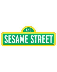 SSHASS01 Sesame Street Tin Street Sign