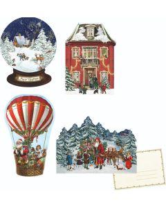 Coppenrath Little Christmas Cutouts Advent Calendar Cards 72014