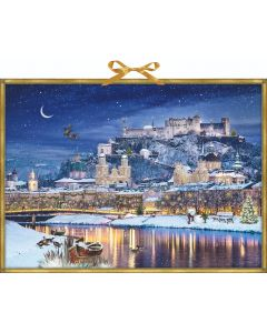 Coppenrath Winter Castle on the River Traditional Advent Calendar 72259