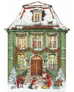 Victorian Christmas Townhouse Large Advent Calendar Coppenrath 72320