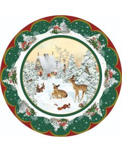 Coppenrath Fawn's First Christmas Round Advent Calendar 72330