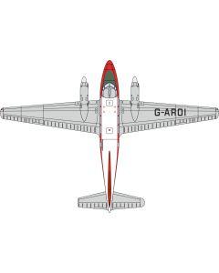 72DV004 DH104 Dove G-ROI British Eagle by Oxford Diecast