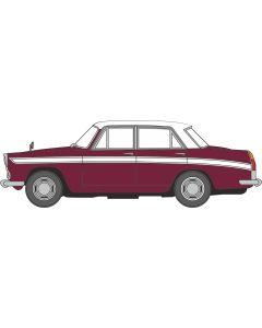 76ACF003 Austin Cambridge A60 Farina Maroon/White