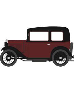 76ASS003 Austin Seven RN Saloon Maroon